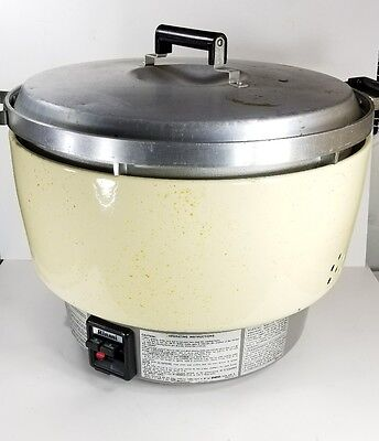 Rinnai Commercial Gas Rice Cooker RER-55AS-N - Used - Works Well