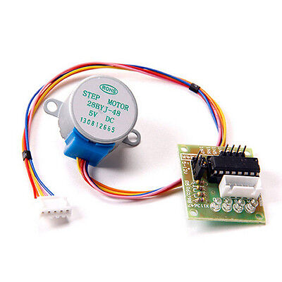 28BYJ-48 Arduino 5V 4Phase Stepper Motor+ULN2003 Driver Test Module Board