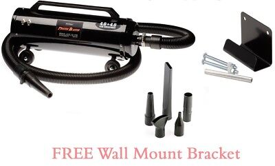 8HP Master Blaster Dryer For Car,Truck,Motorcycle MB-3CD With Wall Mount Bracket