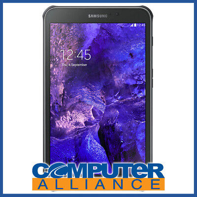 "Samsung Galaxy Tab Active 8"" 16GB 4G Android Tablet Black PN SM-T365YNGAXSA Shoc"