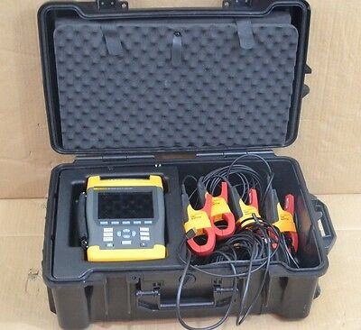 Fluke 435 Three-Phase Power Quality And Energy Analyzer Interharmonics Inrush
