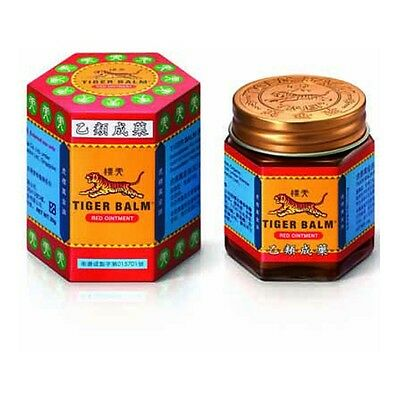 Tiger Balm Red Ointment New Jars Arthritis Joint Pain Headache Relief F/S
