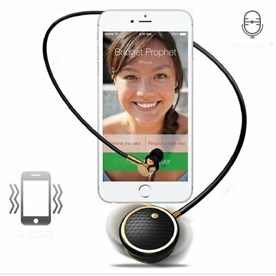 FineBlue Wireless Retractable Stereo Bluetooth Headset Earphone For iPhone RF