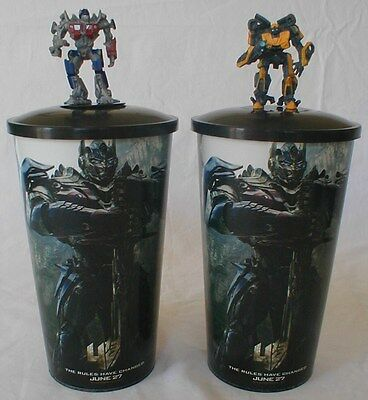 Transformers: Age of Extinction Theater Exclusive Figure Cup Topper Set