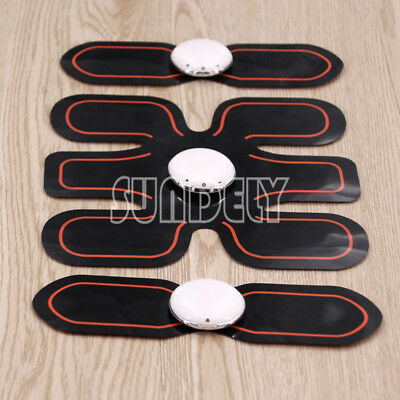 Six Pad EMS Training Gear Body Fit Electrical Muscle Stimulation Healthy Gym