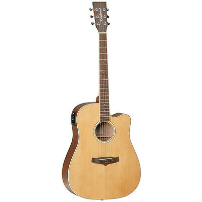 TANGLEWOOD WINTERLEAF dreadnought acoustic electric guitar, Nat Satin, save $150