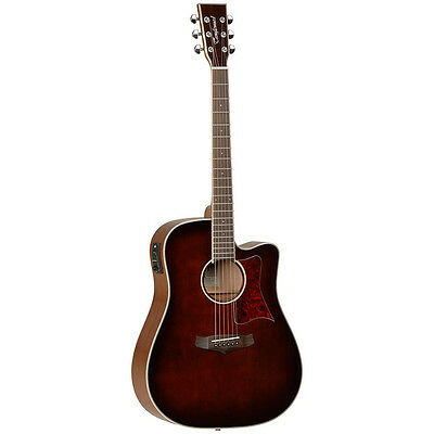 TANGLEWOOD WINTERLEAF dreadnought acoustic electric guitar, Whiskey save$100