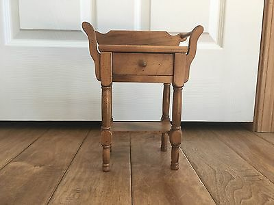 "Addy American Girl 18"" Doll Retired Wooden Nightstand Wash Stand EUC PC"