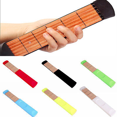 Portable Wooden Trainer Pocket Guitar Fingers Chord Conversion Trainer