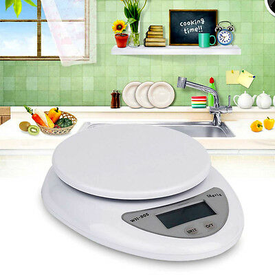 5000g 1g WH-B05 Kitchen Food Electronic Portable Weight Digital pocket Scale 5kg