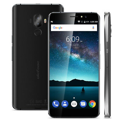 Android 7.0 4G Ulefone power 2 Smartphone 64GB+4GB 6050mAh Cellulare 8-Core 16MP