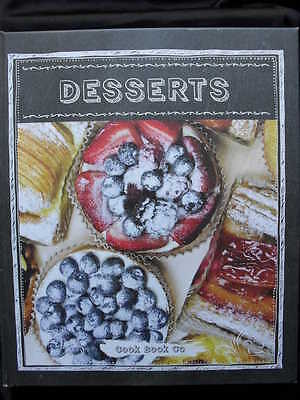 DESSERTS: Divine Desserts by The Cook Book Company: Hardcover:2015: Free Postage