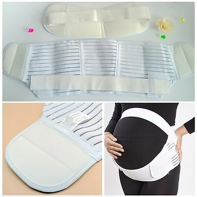Pregnancy Maternity Abdominal Back Support Strap Belt Band Support Brace AU