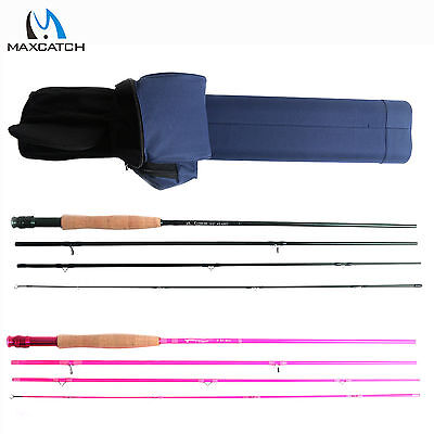 For Couples Journey Youth Fly Fishing Rod & Case (9' 5wt 4pcs) Green & Pink