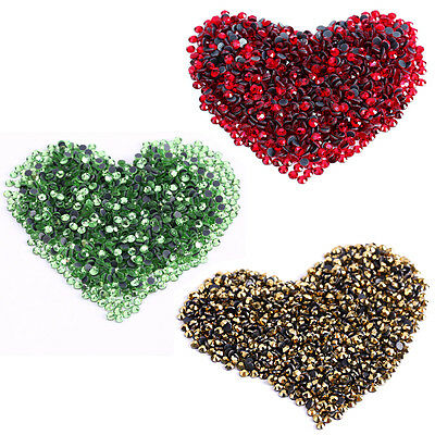 1440 Crystal Hotfix Iron On Rhinestone Dress Making Decoration Art S10 2.8-3.0mm