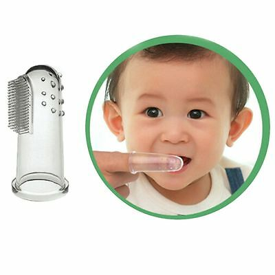 3PCs/Set Safety Gum Finger Toothbrush Infant Product Teeth Cleaning Baby Care