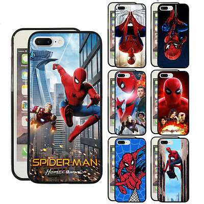 best loved 498b1 72f92 IRON-MAN SPIDER-MAN-HOMECOMING PHONE Case Fit for Iphone & Samsung S10+  Cover