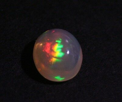 3.73ct Welo Crystal Opal Cabochon - Rainbow Flakes AAA Jelly Opal - See Video