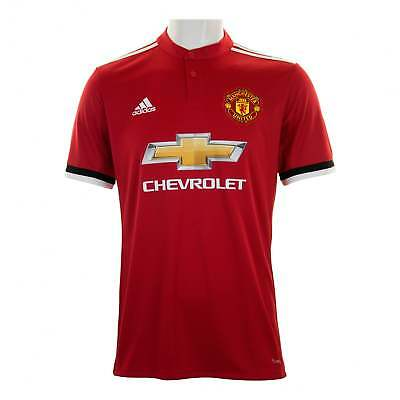 Adidas Performance Mens Manchester United 2017/2018 Home Shirt (Red)