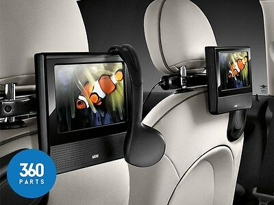 New Genuine Mini Cooper S One Jcw Dual Rear Dvd System Tablet 65122355741