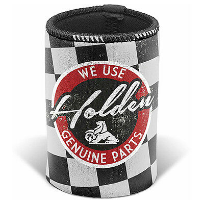 HOLDEN Genuine Parts & Service Can Cooler Stubby Holder Birthday Man Cave Gift