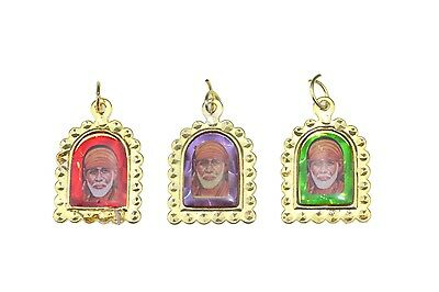 Assorted Shimmering Hindu God High Quality Gold Locket/Pendant/Charm 25mm x 20mm
