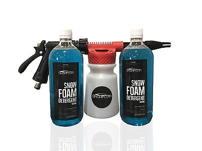 Snow Foam Gun 2L Premium Package - Connects To Garden Hose- Free Shipping!