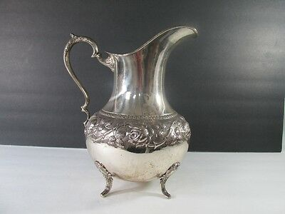 Silver Water Pitcher marked Plateria Hector Pena