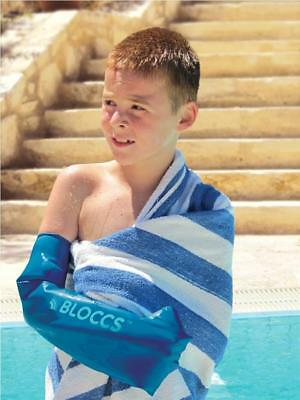 Bloccs Child Full Arm Waterproof Cast & Dressing Protector (Choose Size)