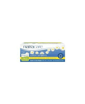 NatraCare - 20 tampons hygiéniques bio sans applicateur