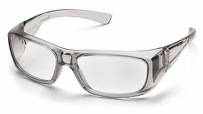 Pyramex Emerge Gray 1.5 Clear Reader Lens Reading Safety Glasses Z87+ 1 Pr