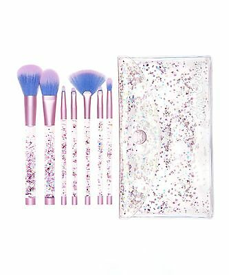 Lime Crime Aquarium Brush Set Makeup Brushes New 100% Genuine Face Blush Eyes