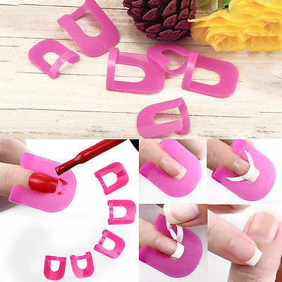 Lot 26 Protecteur Guide Pochoir Bord Vernis Ongle Nail Art + Stickers Ong019
