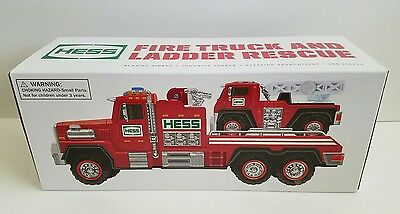New Hess 2015 Fire Truck And Ladder Rescue