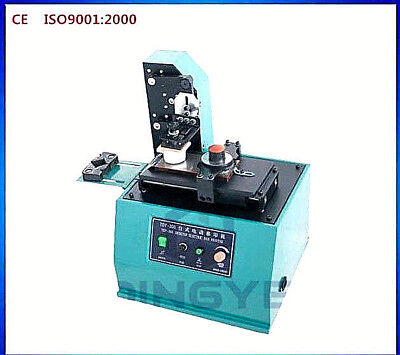 110 Volt Tdy300C Electric Auto Pad Printer Ink Press For Trademarks, Logos, Code