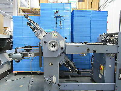 Stahl T-47 Pile Feed Folder 4/4 with Angle and Counter..... also see MBO, Baum