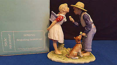 """Norman Rockwell SPRING Beguiling Buttercup GORHAM  Style NR 1949 - SP    8.25""""H"""