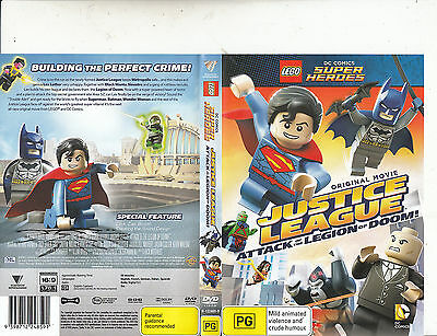 Lego :DC Comics Super Heroes-Justice League-2015-Animated-Movie-DVD