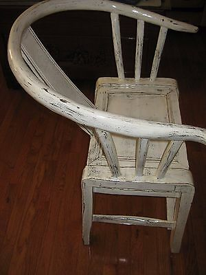 antique chinese ming horseshoe chair