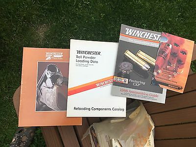 Winchester set of 4 Catalogs from the 1980's Vintage catalogue books