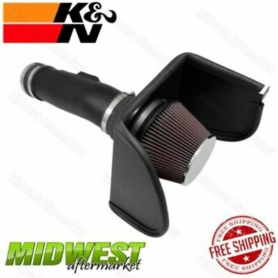 K&N Filters 63 Series Aircharger Air Intake System For 2017 Nissan Titan 5.6L