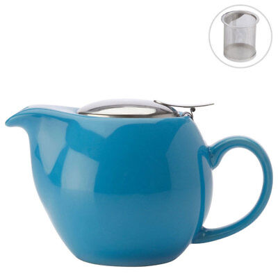Maxwell & Williams Cafe Culture Blue Teapot w/ Infuser 500ml Dishwasher Safe