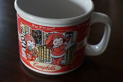 Vintage Campbell's Soup Mug Fall Winter Houston Harvest 1998 Collectible