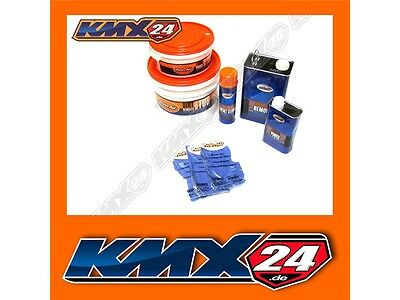 Twin Air Air Filters Cleaning Set Suitable for Husqvarna SM SMR 530 570 610 630