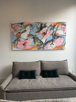 Huge Original Artwork Painting On Canvas
