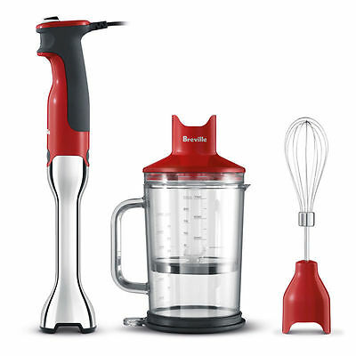 Breville the Control Grip Cranberry BSB510CRN 700W Stick Blender