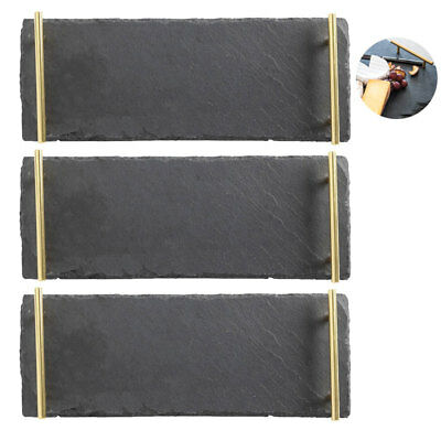 Maxwell & Williams 3pc Mezze Slate Serving Tray 40x15cm/Tableware/Cheese Platter