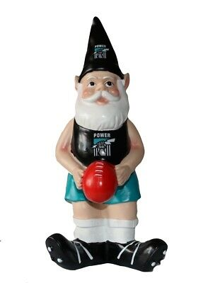 Port Adelaide Power AFL Garden Gnome with Red Ball 2017