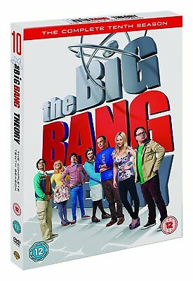 Big Bang Theory 10 The Complete Dvd Season 10 Englisch
