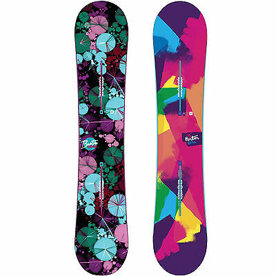 Burton Genius Damen Snowboards Freestyle Flat Top Boards Ladies 2016-2017 NEW
